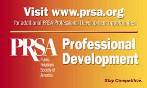 PRSA Professional Development logo