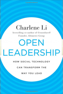 Open Leadership cover