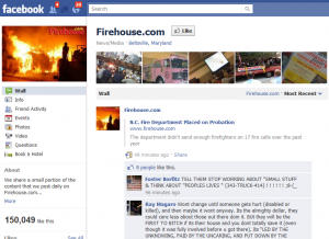 Firehouse.com on Facebook