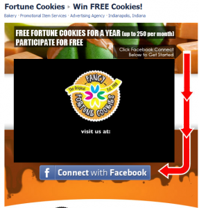 Fancy Fortune Cookies on Facebook