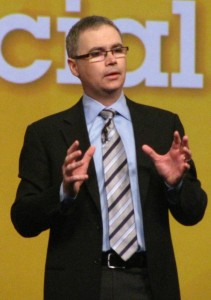 Alistair Rennie at Lotusphere 2012
