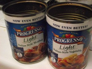 Crisis brewing for Progresso soup?
