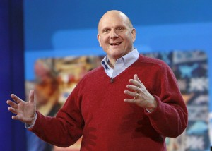 Steve Ballmer at CES 2010