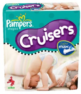 Pampers Dry Max package