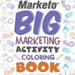 Marketo's Big Marketing Activity Coloring Book
