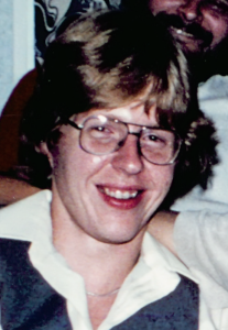 Dorky college senior, 1979