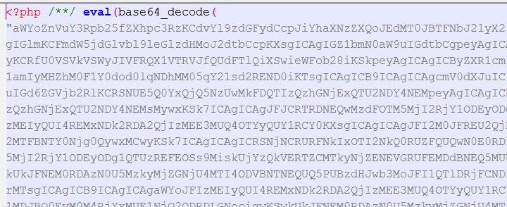 Rogue code in WordPress