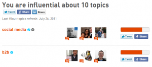Paul Gillin's Klout Influence