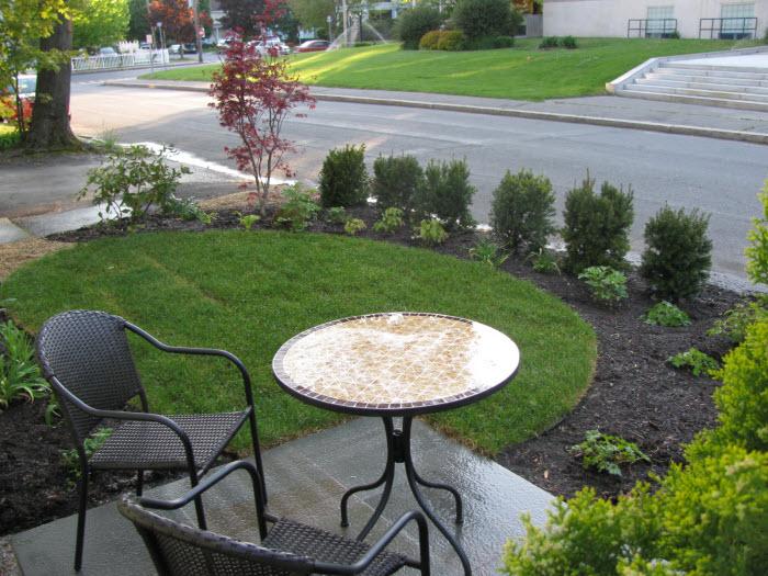 Front Yard After Green Velvet Gardens of Holliston, MA