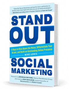Stand Out Social Marketing cover