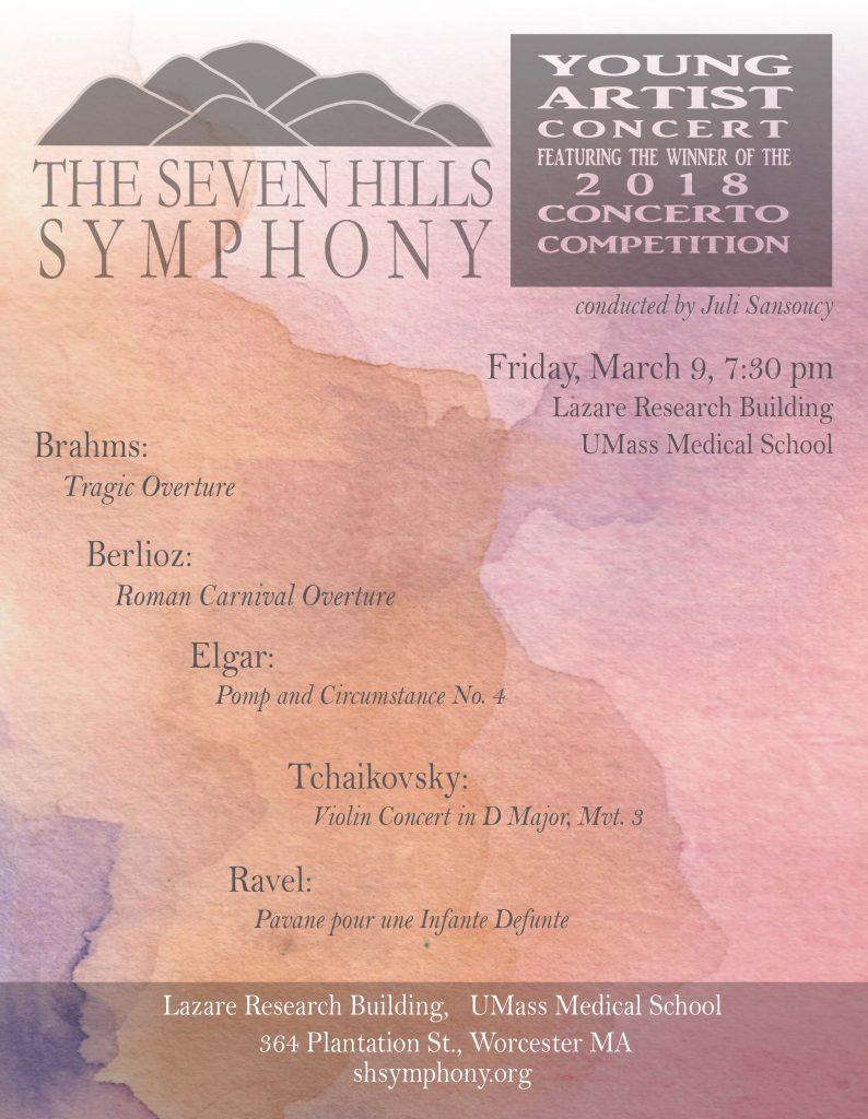 Seven Hills Symphony Spring 2018 Concert